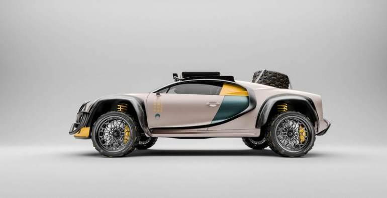 La Bugatti Chiron Terracross