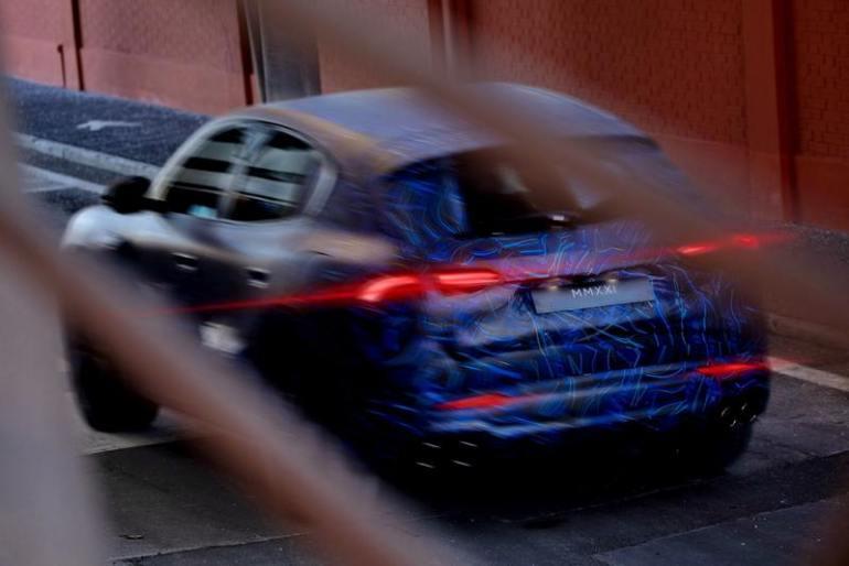 Maserati Grecale prototipo su strada