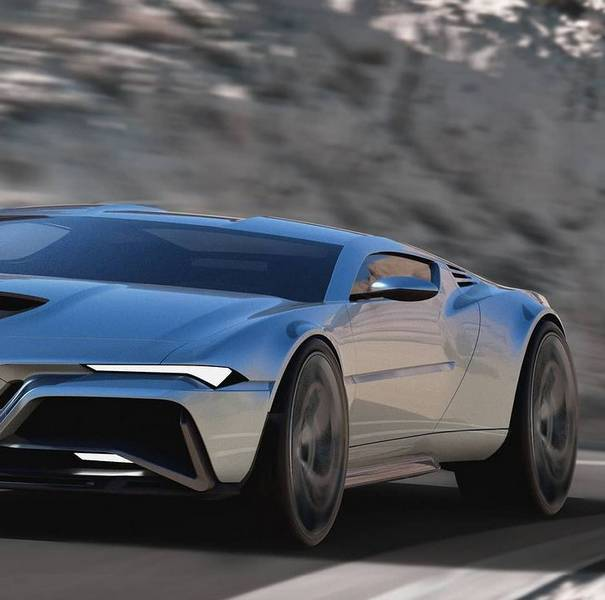 Vetrate quasi inesistenti per l'Alfa Romeo Montreal rendering 2021