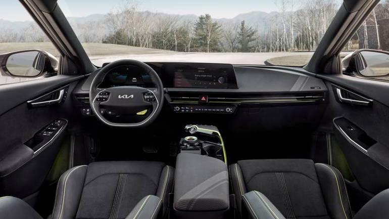 Interni nuova Kia EV6 GT