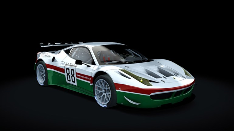 Test-Driver Assetto Corsa skin pack Ferrari 458 gt2 01