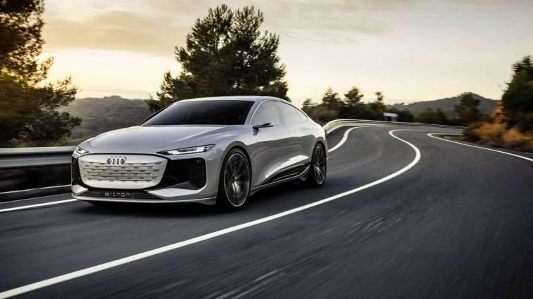 Nuova Audi A6 e-tron concept al Salone di Shangai 2021