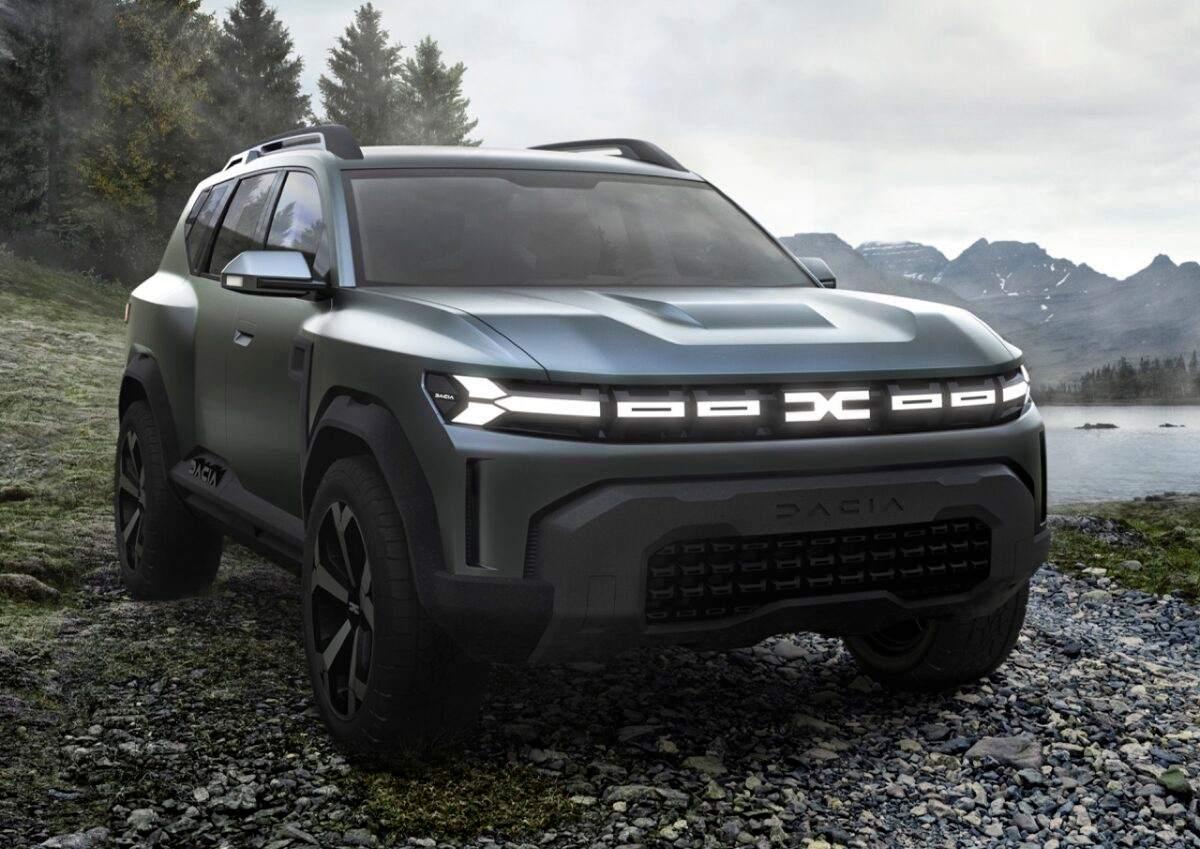 Nuovo Dacia Bigster concept