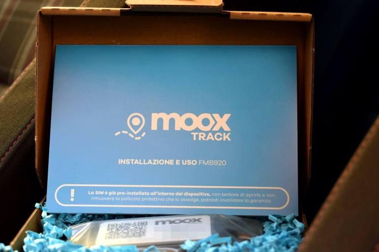 Confezione antifurto auto Moox Track
