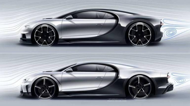 Confronto tra Bugatti