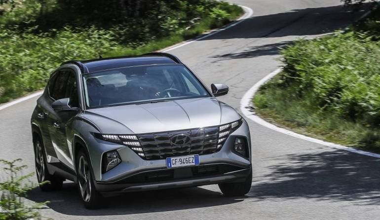 Scheda tecnica Hyundai Tucson Plug In Hybrid 2021