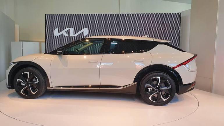 Profilo e proporzioni Kia EV6