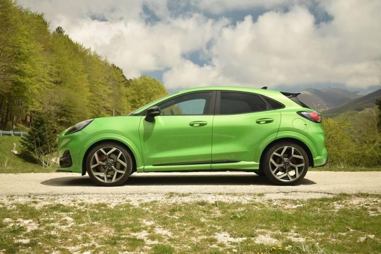 Ford Puma Mean Green