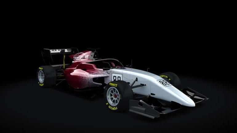 Secondo skin pack Test driver Formula RSS 3 v6 skin 02