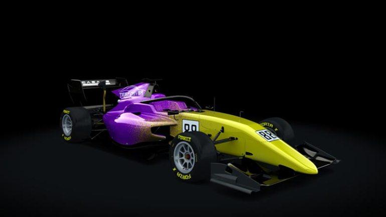 Secondo skin pack Test driver Formula RSS 3 v6 skin 04