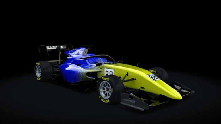 Secondo skin pack Test driver Formula RSS 3 v6 skin 06