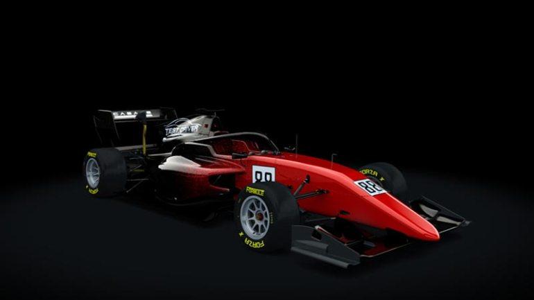 Secondo skin pack Test driver Formula RSS 3 v6 skin 07