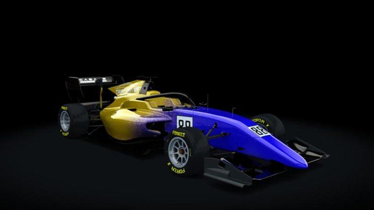 Secondo skin pack Test driver Formula RSS 3 v6 skin 08