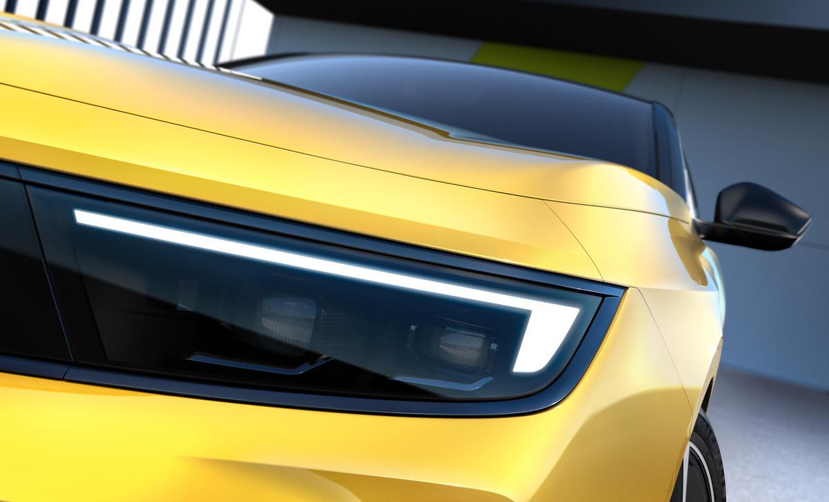 Dettaglio faro IntelliLux LED® nuova Opel Astra 2021