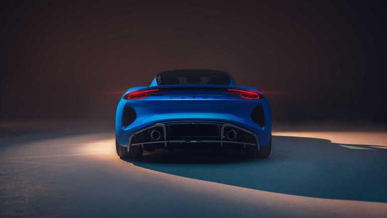 Posteriore Lotus Emira 2022