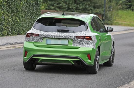 Nuova Ford Focus ST 2022 restyling