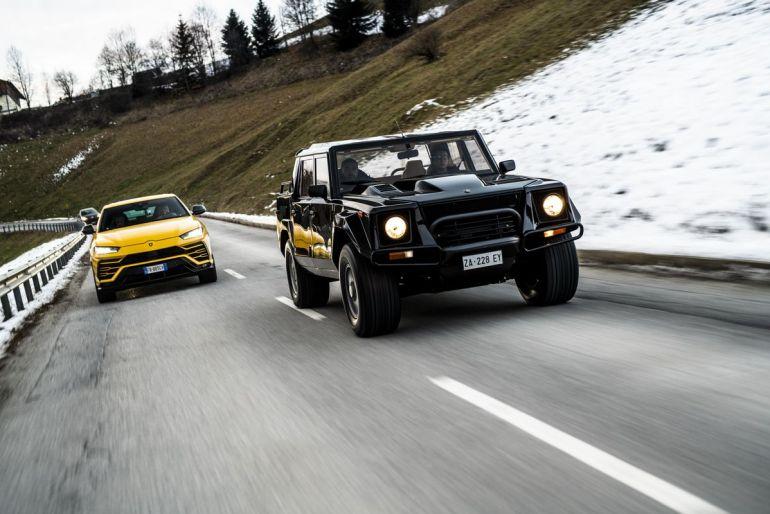 Lamborghini LM 002 SUV sportivo
