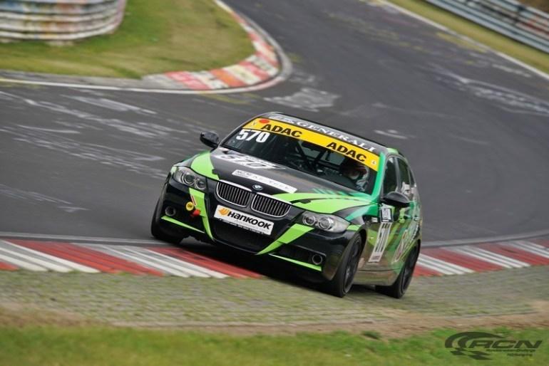 BMW in pista al Nurburgring
