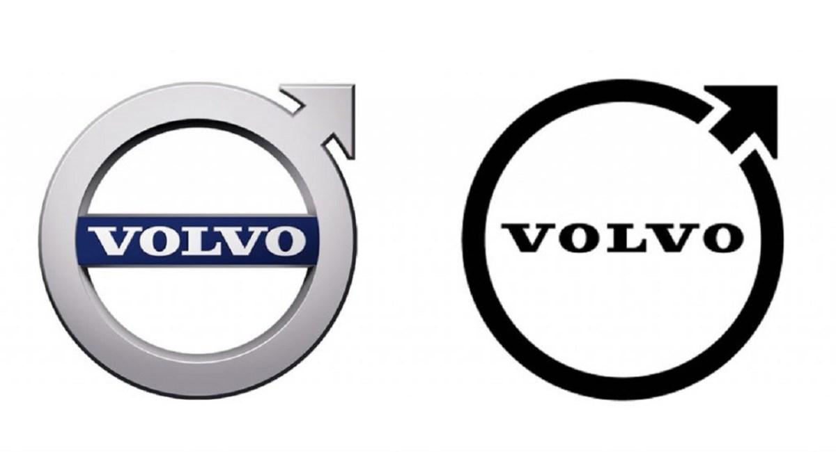 Nuovo logo di Volvo nel 2021