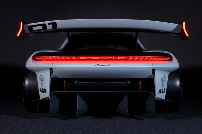 Posteriore Porsche Mission R