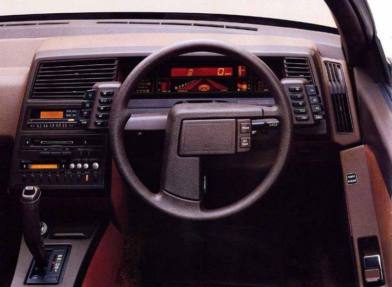 Volante della Subaru XT