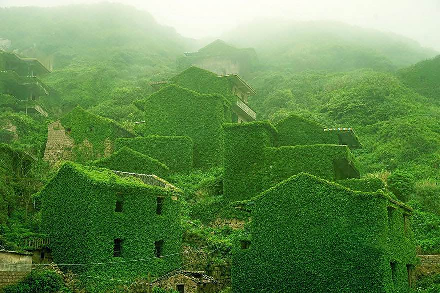 #10 Abandoned Fishing Village In Shengsi, China