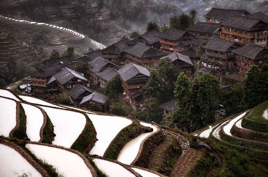 #15 Mountain Village In China
