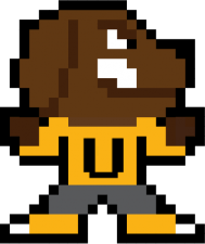 8-bit true grit with U-jersey link to college student content