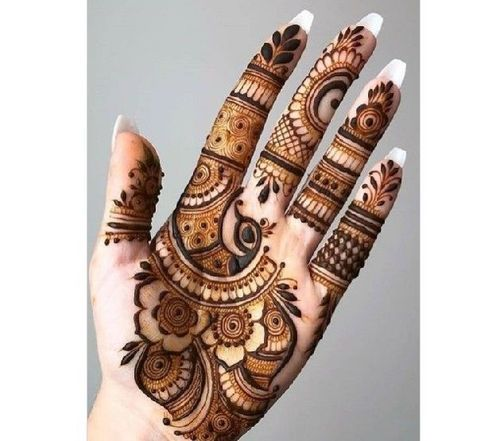 ५०० ब्यूटीफुल हाफ हैंड बैक मेहंदी डिज़ाइन (hindi edition) ebook : 51 Best Front Hand Mehndi Designs 2021