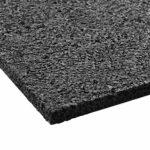 tapis anti vibration floordirekt pro 100x60x1cm pour tous les sols