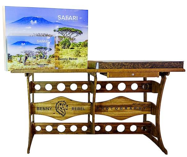 SAFARI-The-Fine-Art-Book-Benny-Rebel-Vergleich-XXL-zu-XL_ETUI-CASE-DSC2350