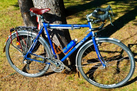 The Surly Long Haul Trucker is a favorite of commuters, although it's designed as a light touring bike.