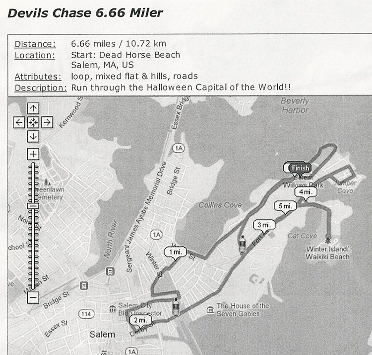 Devil's Chase Run Salem MA