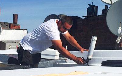 Dachdämmung durch frb Dachdecker