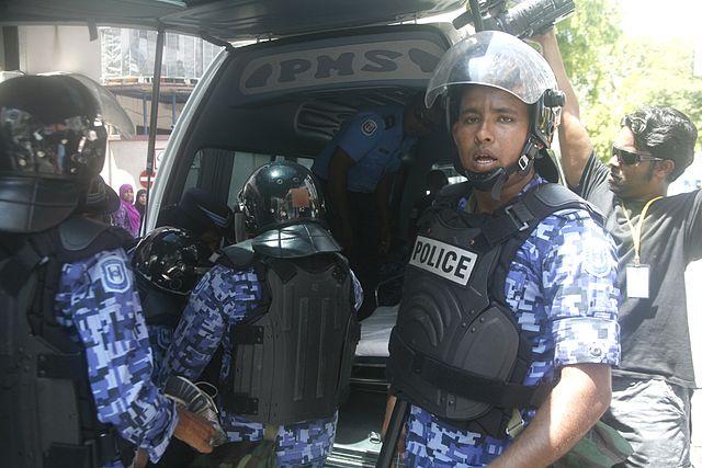 Maldives police