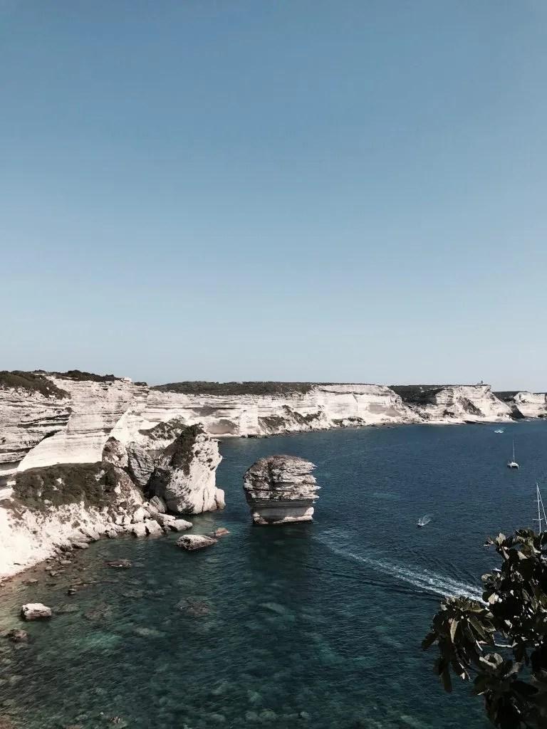 Vista sulle Bocche di Bonifacio