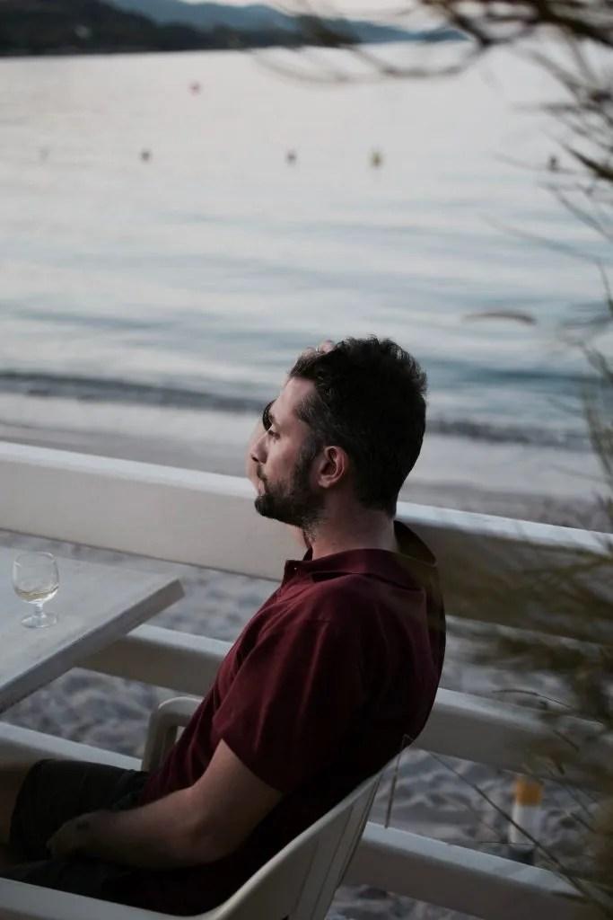 Dino Passeri in relax a Bastia