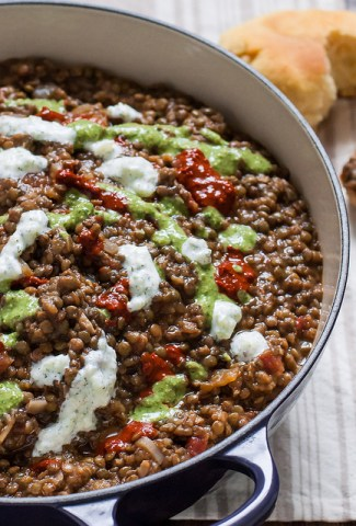 Essential Home Cookware and Spiced Eggplant Lentil Stew
