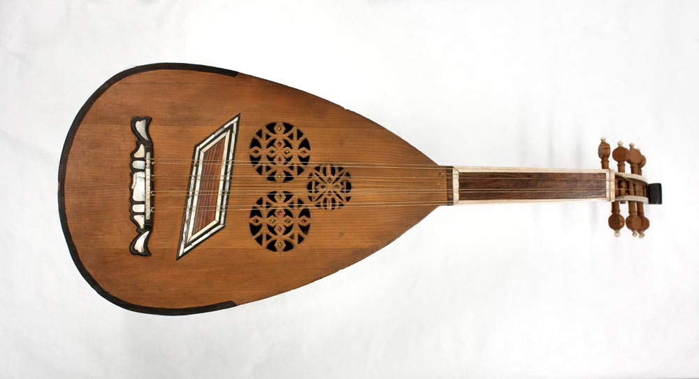 Engel oud soundboard