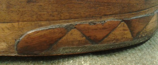 cropped linen edge mahllion