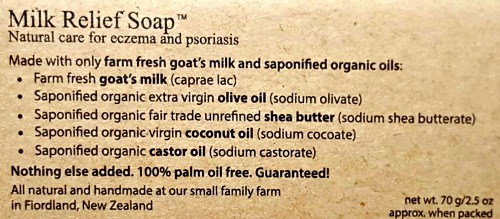 Palm Oil Free Soap Ingredients