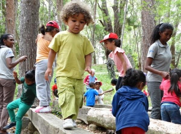 La maternelle au fond des bois