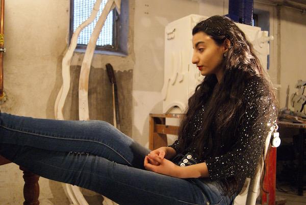 Mac-O-Bert, model, actrice, robert pennekamp, update 11, Shabnam, Brainstormbureau, art, installation, waiting for things to happen