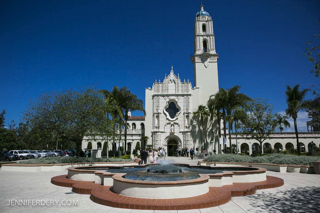 photo of the Immaculata church on USD campus