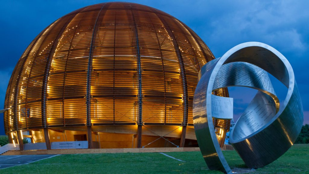 The Globe of Science and Innovation - CERN visitor center in Geneva