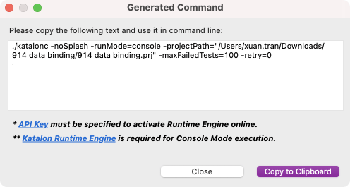 Generate-Command-Terminate-Execution-Conditionally