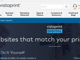 vistaprint website