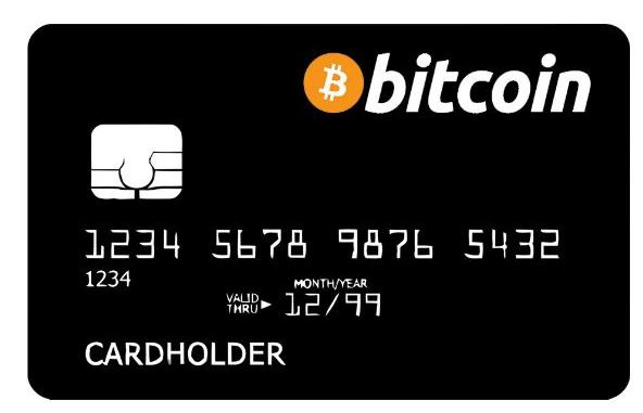 Bitcoin debit card price