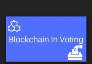 Blockchain voting