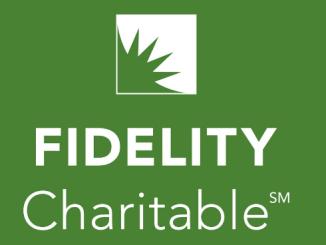 Fidelity Charitable Donations